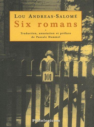 Six romans : Combat pour Dieu (1885), Ruth (1895), D'me trangre (1896), Enfants d'hommes (1899), Ma (1901), Pays-frontire (1902)