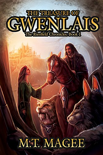 Book cover image for The Treasure of Gwenlais: The Rienfield Chronicles Book 1