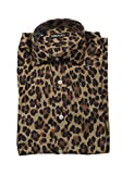 CL - Tom Ford Brown Animal Shirt Size 40/15,75 U.S.