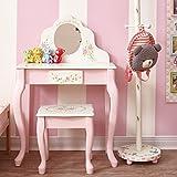 Fantasy Fields W-5700AR Kinder Schminktisch, Pink/Weiß