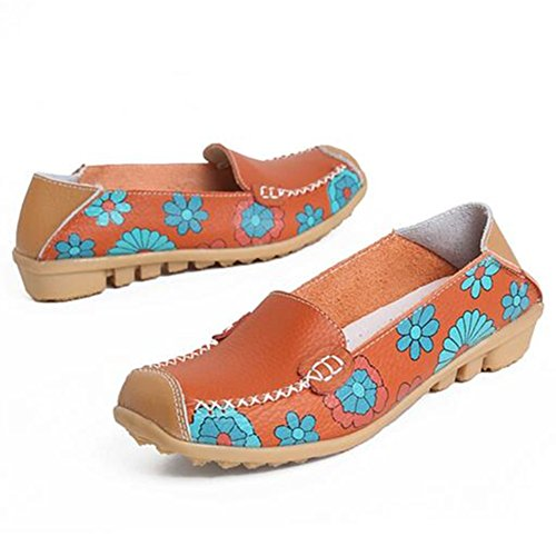 Comfort Walking Cute Flat Loafer LEWT0 Taille-42 PLpOgkNgDg