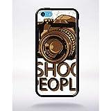 Générique Coque i Shoot People Compatible Apple iphone 5c Bord Noir Silicone