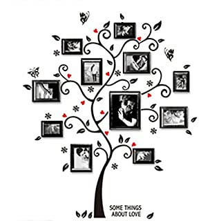 display08 Family Photo Frame Tree Removable Wall Decal Art Sticker DIY Home Decor - 1#