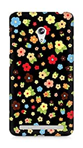Amez designer printed 3d premium high quality back case cover for Asus Zenfone 6 (Cute Pattern 1)