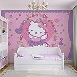 Hello Kitty - Forwall - Fototapete - Tapete - Fotomural - Mural Wandbild - (449WM) - M - 104cm x 70.5cm - VLIES (EasyInstall) - 1 Piece