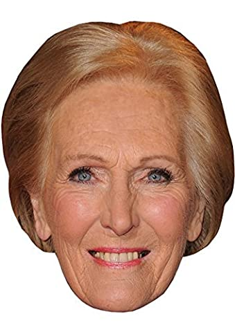 MARY BERRY - BUDGET RANGE - READY TO WEAR CELEBRITY FACE MASK
