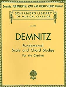 Friedrich Demnitz: Fundamental Scale And Chord Studies For Clarinet. Partitions pour Clarinette