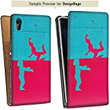 Samsung Galaxy S Advance i9070 Sacoche Housse de Protection Walletcase Bookstyle Couple Amour Amour