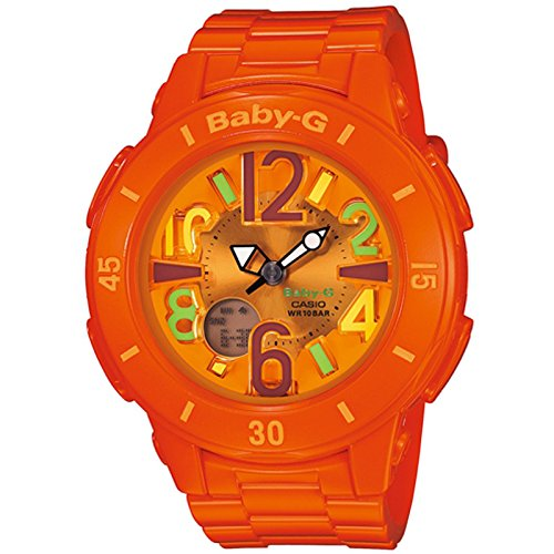 Casio Damas Watch Baby-G Neon Illuminator Reloj BGA-171-4B2