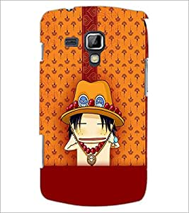 PrintDhaba Cartoon D-2626 Back Case Cover for SAMSUNG GALAXY S DUOS 2 S7582 (Multi-Coloured)