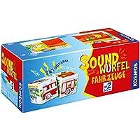 Kosmos 697372 - Soundwürfel Fahrzeuge, Kinderspiel