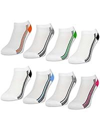8 oder 12 Paar Damen Sport Sneaker Socken Baumwolle Damensocken ohne Naht - 36785 - sockenkauf24