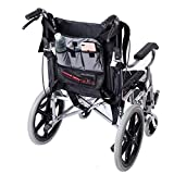 Wheelchair Side deambulatore Walker bag, borsa per scooter di stoccaggio, pieghevole Walkers organizer Pouch Caddy per anziani, anziani, handicap disabili HGJ156