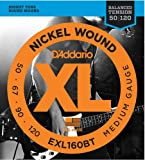 D'Addario EXL160BT 50-120 Balanced Tension Medium Nickel Wound Bass Guitar Strings