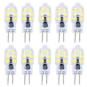 10 moules ac220 v lampe led g4 12 x 2w 2835 smd ampoule led blanc froid 6500 k 180 angle 120lm. Black Bedroom Furniture Sets. Home Design Ideas