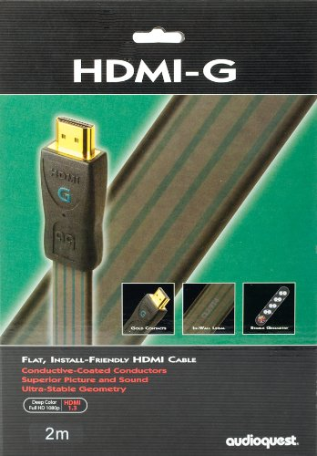 audioquest-v14-3d-hdmi-g-flat-paintable-cable-2m-656-new
