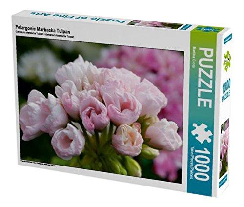 Preisvergleich Produktbild Pelargonie Marbacka Tulpan 1000 Teile Puzzle quer (CALVENDO Natur)