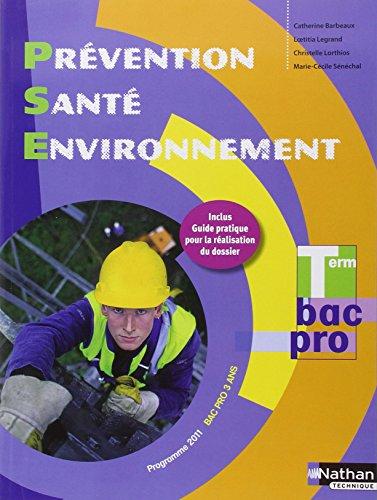 Prvention Sant Environnement Tle Bac Pro