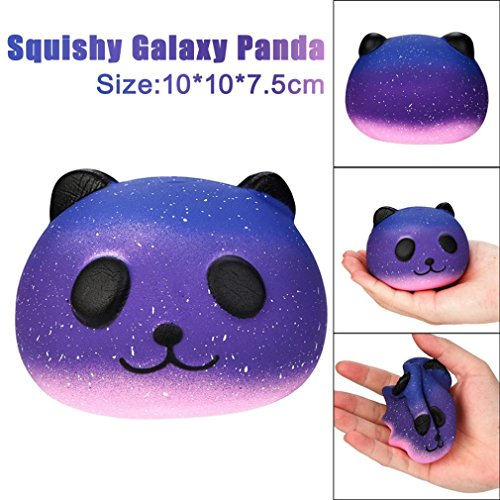 Home Sterne-akzent-tabelle (lifetrend Galaxy Cute 10 cm Panda Baby Creme Duft Squishy Slow Rising Squeeze Kinder Spielzeug, PVC, B, Einheitsgröße)