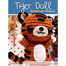 Tiger Doll Amigurumi Pattern (Crochet Pattern Books) (English Edition)