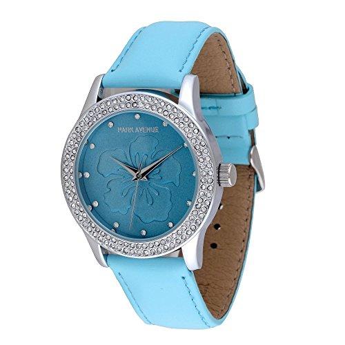 park-avenue-montre-femme-modele-big-flower-bleu