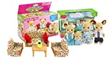 Calico Critters Buckly Deer Family And L...