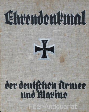 Ehrendenkmal der deutschen Armee und Marine.