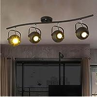 SBWYLT-Vintage industriale, illuminazione a led illuminazione della pista, soggiorno, Sala da pranzo, bar, Polo americano, (Illuminazione Della Pista)