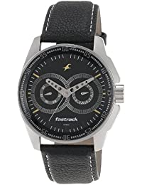 Fastrack Black Magic Analog Dial Men's Watch-NK3089SL02