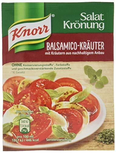 Knorr Salatkrönung Balsamico-Kräuter Dressing 5er Pack, 450 ml