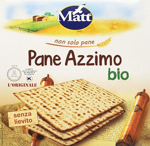 Matt Pane Azzimo Bio - 400 gr - Grissini Italiani