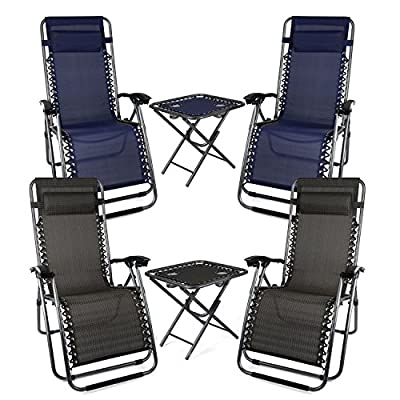 Palm Springs Zero Gravity Chairs and Table Set