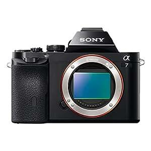 Sony ILCE-7B Appareil Photo Numérique Hybride Boitier Nu, Capteur Plein Format 35mm, 24 Mpix