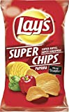Lay's Super Chips Paprika Geriffelt, 10er Pack (10 x 175g)