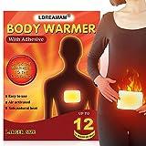 Wärmepflaster,Körperwärmer,Wärmepads,5 Stück Wärmekissen Wärmepad für den ganzen Körper Selbstklebende Wärmepflaster wärmt bis zu 12 Stunden,Grösse 10x13cm