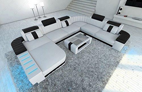 design intérieur de la maison Bellagio XXL avec éclairage LED BLANC - Noir