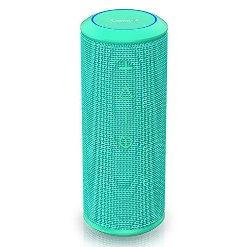 Zamkol Altavoz Bluetooth 4.2 Caso, 20 W Wireless Speaker TWS & AUX...
