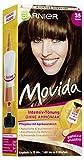 Garnier Tönung Movida Pflege-Creme, Intensiv-Tönung Haarfarbe 35 Braun, 3er Pack