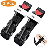 LURICO Tourniquet - 2 Pack, Combat Tourniquet Combat Application Military Medical Emergency That Stops Bleeding from Life Threatening in Hunting and Hiking