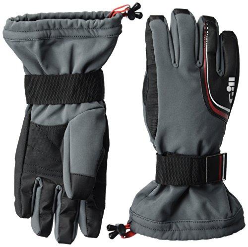 GILL Helmsman Handschuhe 7803 in der Farbe Ash - Segelhandschuhe Größe L