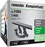 Rameder Komplettsatz, Anhängerkupplung abnehmbar + 13pol Elektrik für Ford S-MAX (153969-13884-1)