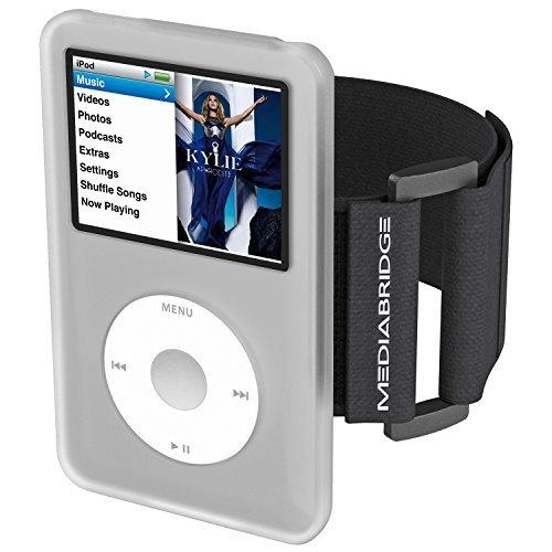 Mediabridge AB1-IPC7-Clear Armband für iPod Classic (7. Generation), Transparent (Sport Armband Ipod Classic)