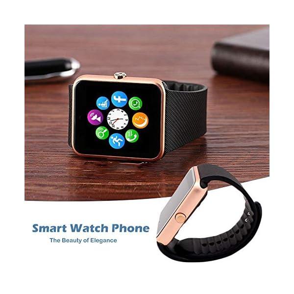 GT08 Bluetooth SmartWatch SmartWatch con Ranura para Tarjeta SIM y la cámara de 2.0 megapíxeles para el iPhone/Samsung y… 9