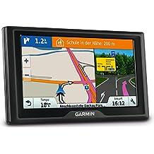 """Garmin Drive 60 EU LMT - Navegador GPS (pantalla táctil de 6.1"""", Garmin Real Directions, indicador de carril), negro"""