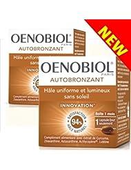 Oenobiol Autobronzant Hâle uniforme et lumineux sans soleil - Lot de 2 boites