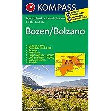 Bozen / Bolzano 1 : 8 000: Stadtplan. Mit Umgebungskarte 1:300 000