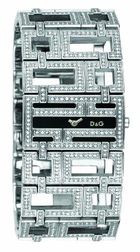 Dolce & Gabbana - Reloj de mujer, correa de acero inoxidable color plata
