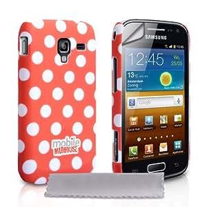 Kompatibel Für Samsung Galaxy Ace 2 Tasche Rot: Amazon.de