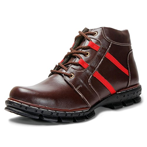 Bacca Bucci Men Brown Artificial Leather Boots 9 Uk  available at amazon for Rs.549