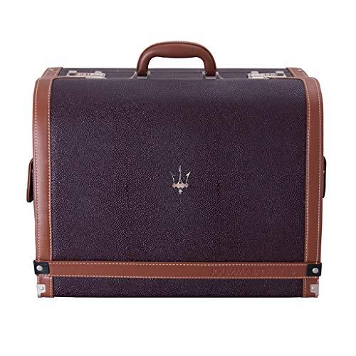 Ablagen Auto-Organisator Auto-Aufbewahrungsbox Stamm-Aufbewahrungsbox Anwendbar Für Verschiedene Modelle (Color : Brown, Size : 48 * 30 * 38cm)